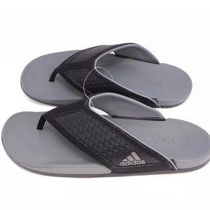 Adidas Mens Cloud Foam Flip Flop Sandal